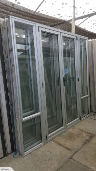 Silver French Door 2.2 H x 2350 W